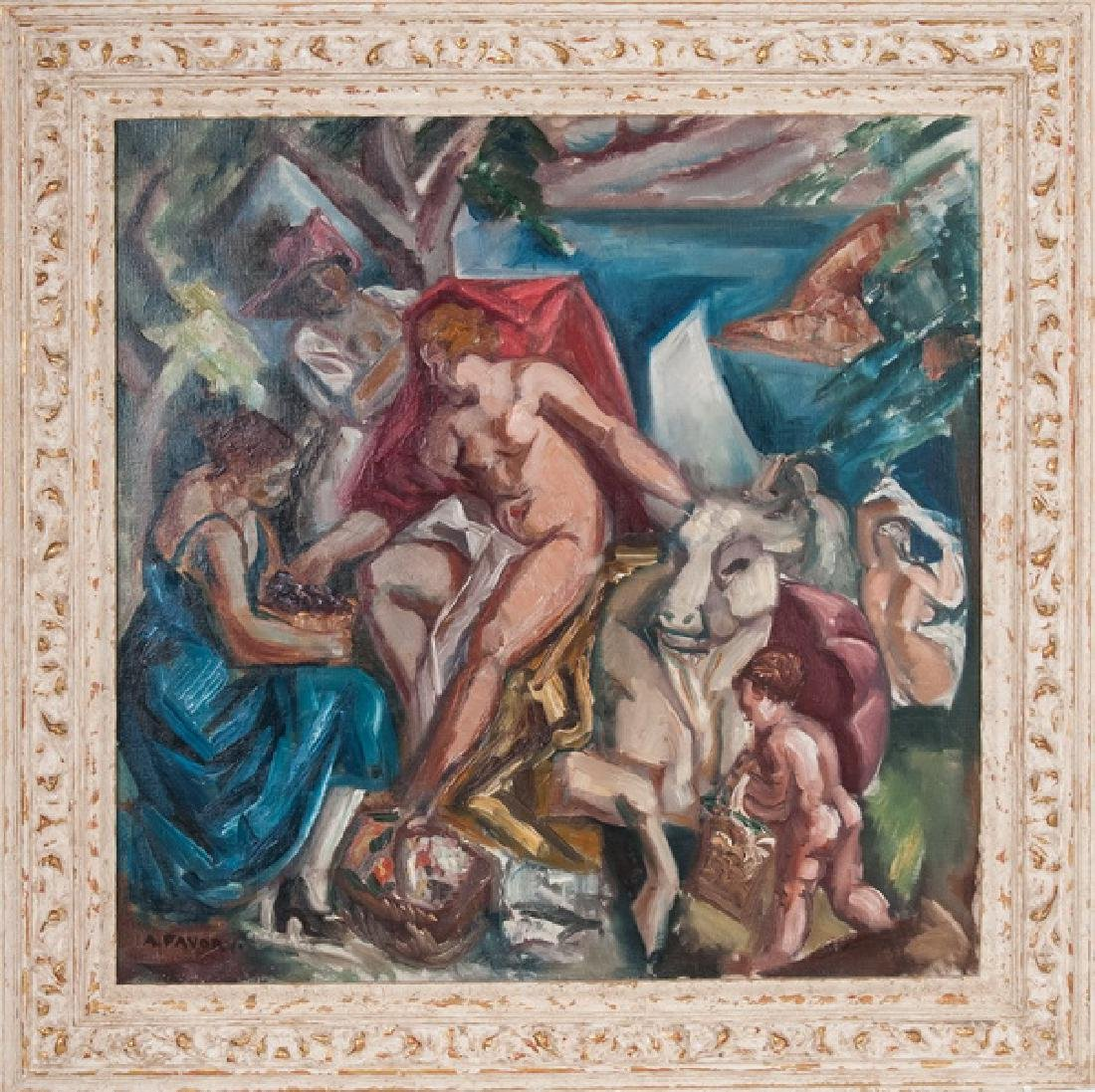 "ANDRE FAVORY: ""RAPE OF EUROPA"""