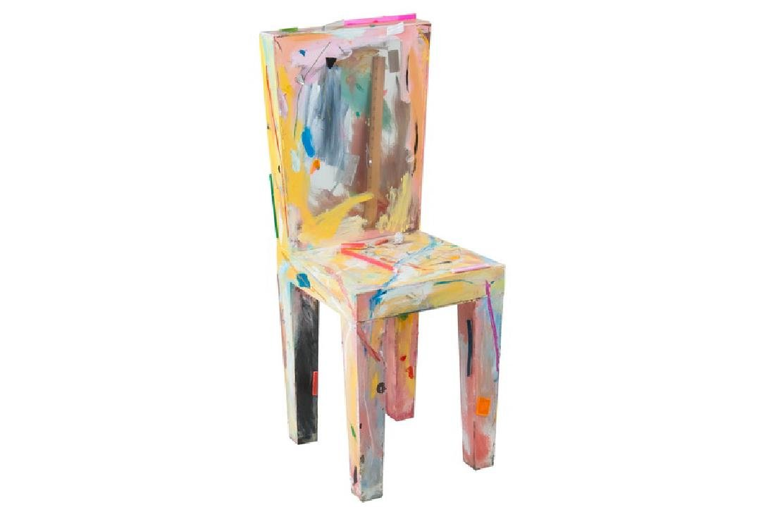 THURMAN STATOM: MIXED MEDIA CHAIR
