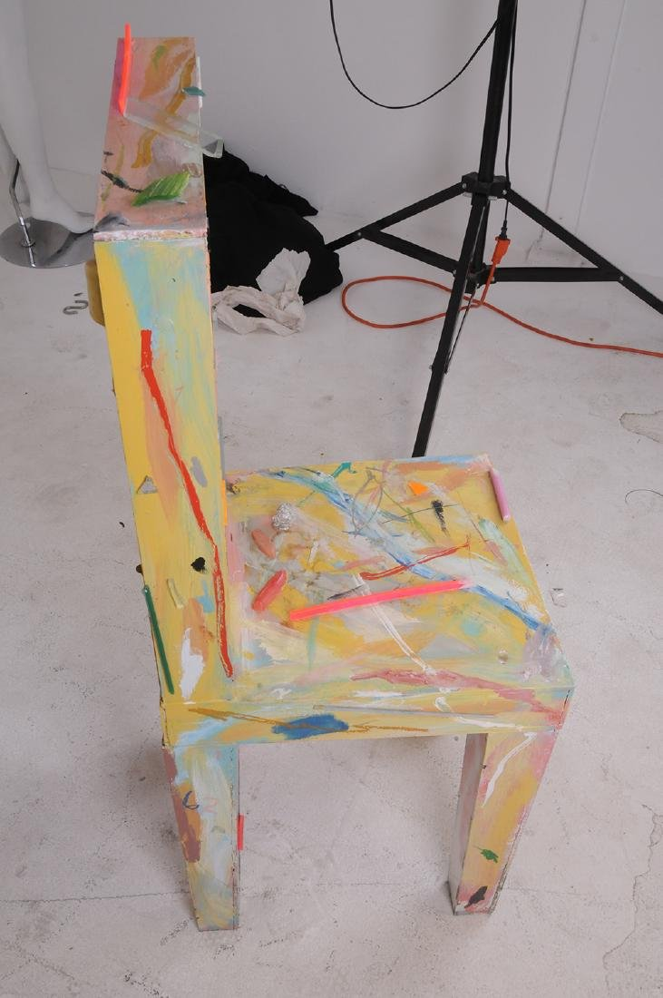 THURMAN STATOM: MIXED MEDIA CHAIR - 4