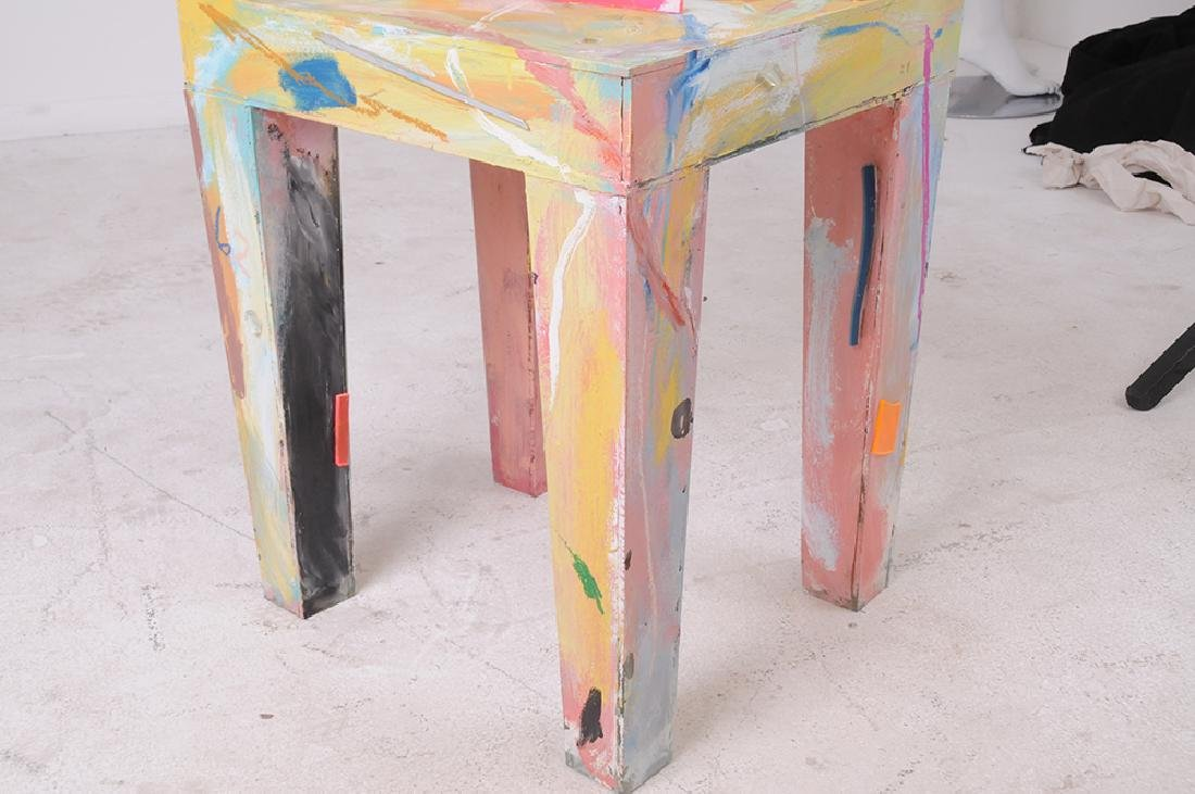 THURMAN STATOM: MIXED MEDIA CHAIR - 5