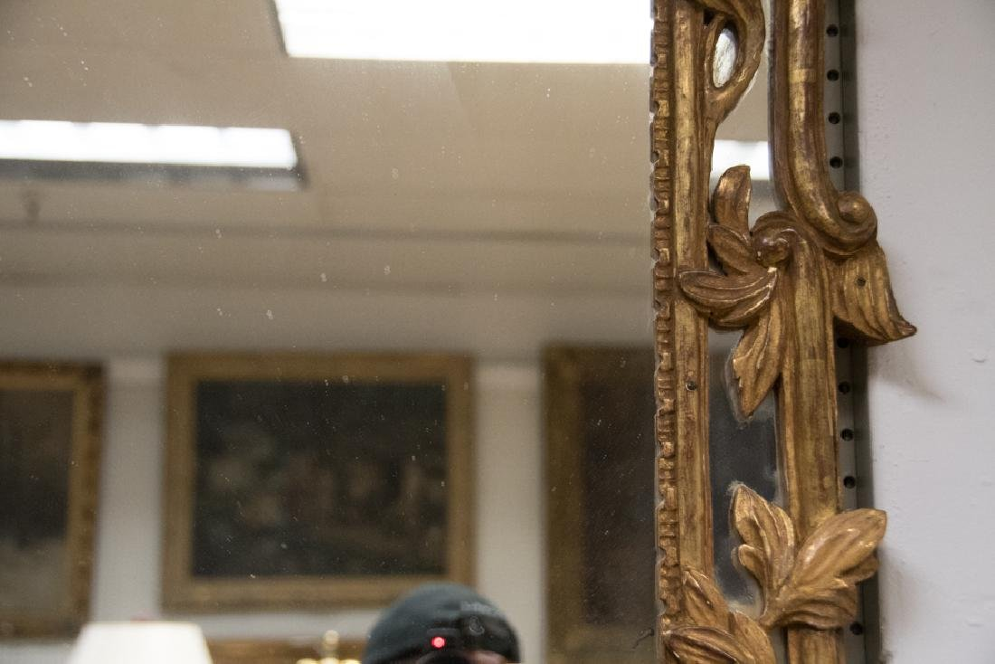 PAIR OF FRENCH GILTWOOD MIRRORS - 3