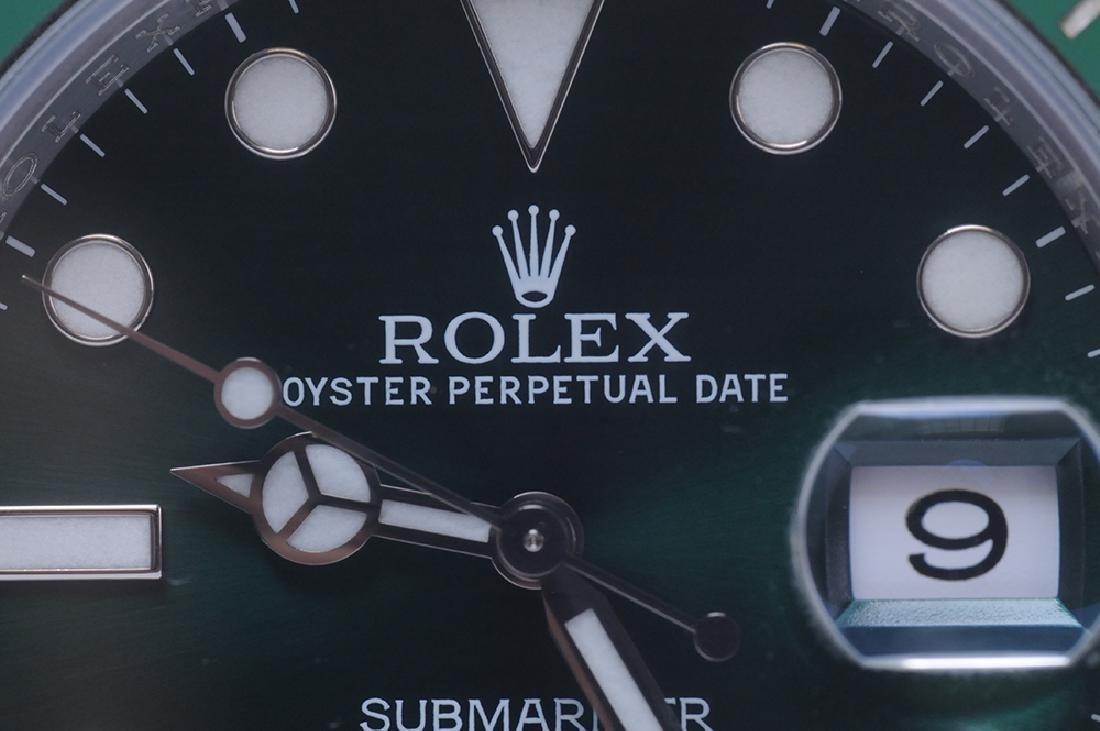 ROLEX STAINLESS STEEL SUBMARINER WATCH - 2