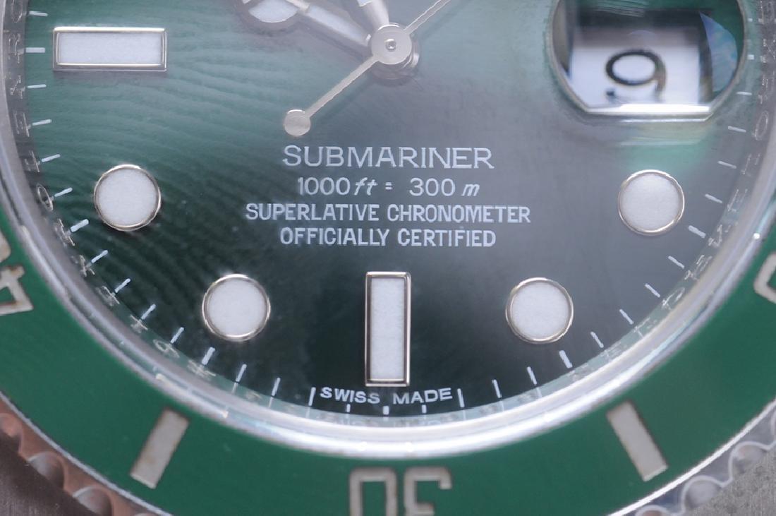ROLEX STAINLESS STEEL SUBMARINER WATCH - 7