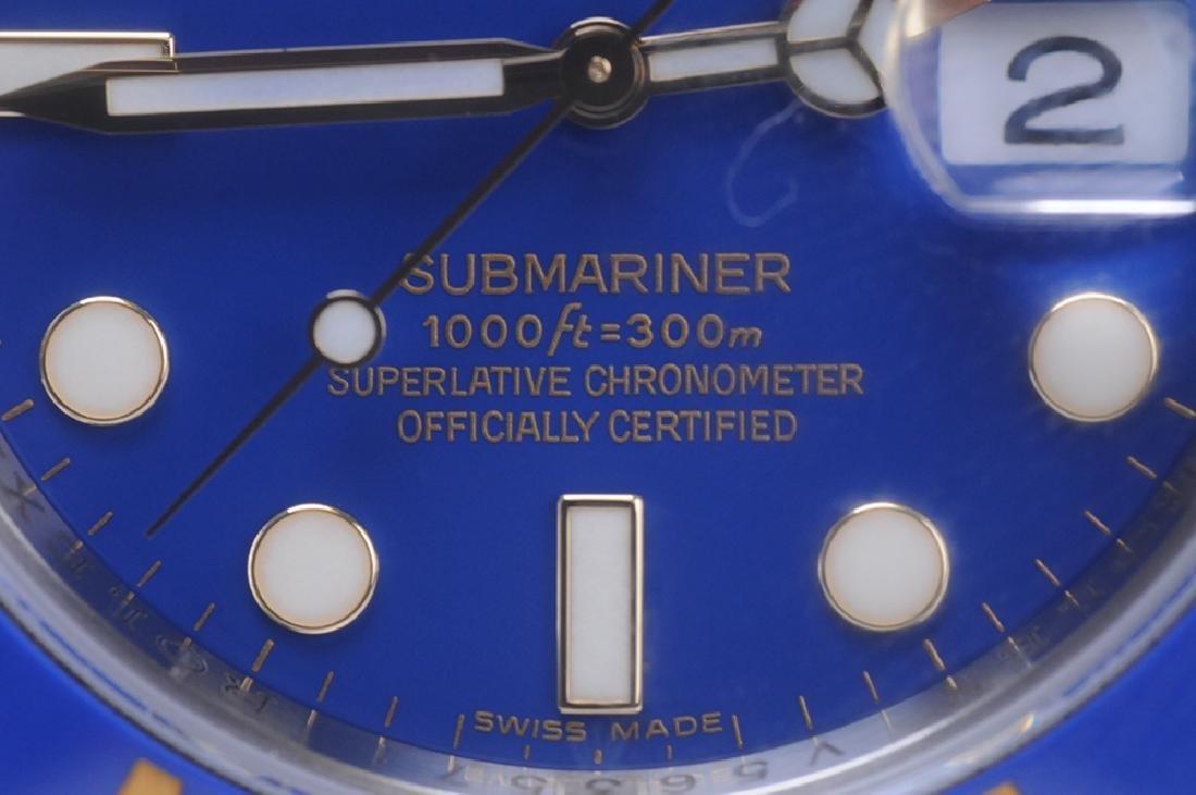 ROLEX 18 KARAT GOLD & STAINLESS STEEL SUBMARINER WATCH - 8