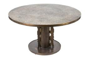 "PHILIP & KELVIN LAVERNE ""ETRUSCAN"" GAME TABLE"