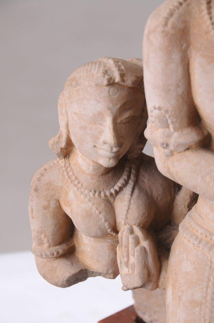 INDIAN SANDSTONE FRAGMENT - 5
