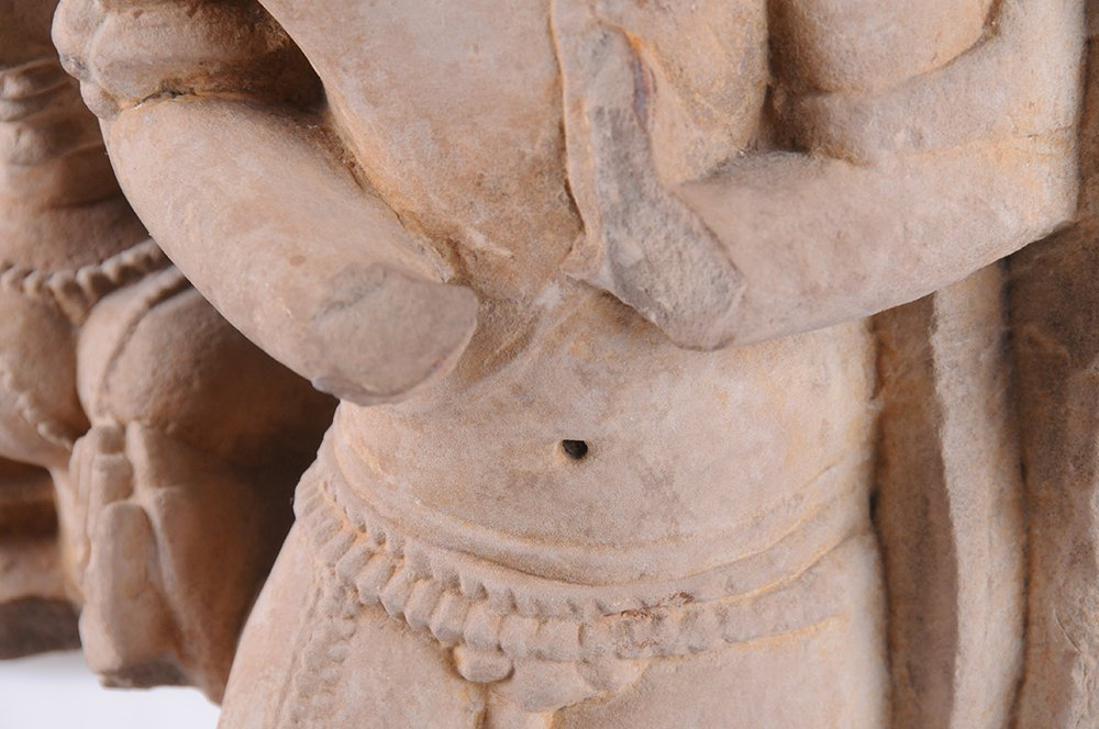 INDIAN SANDSTONE FRAGMENT - 7