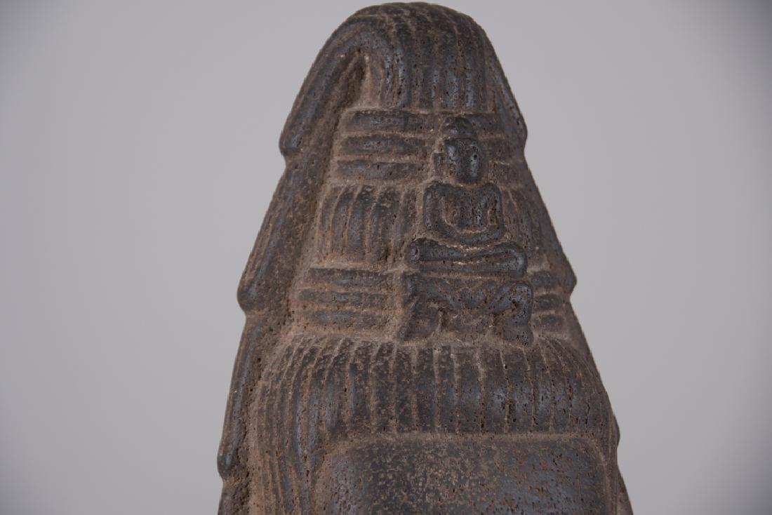 KHMER STONE HEAD OF LOKESVARA - 6