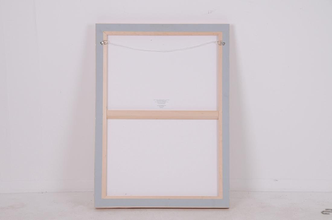 """ROBERT MOTHERWELL: """"IN WHITE WITH GREEN STRIPE"""" - 4"""