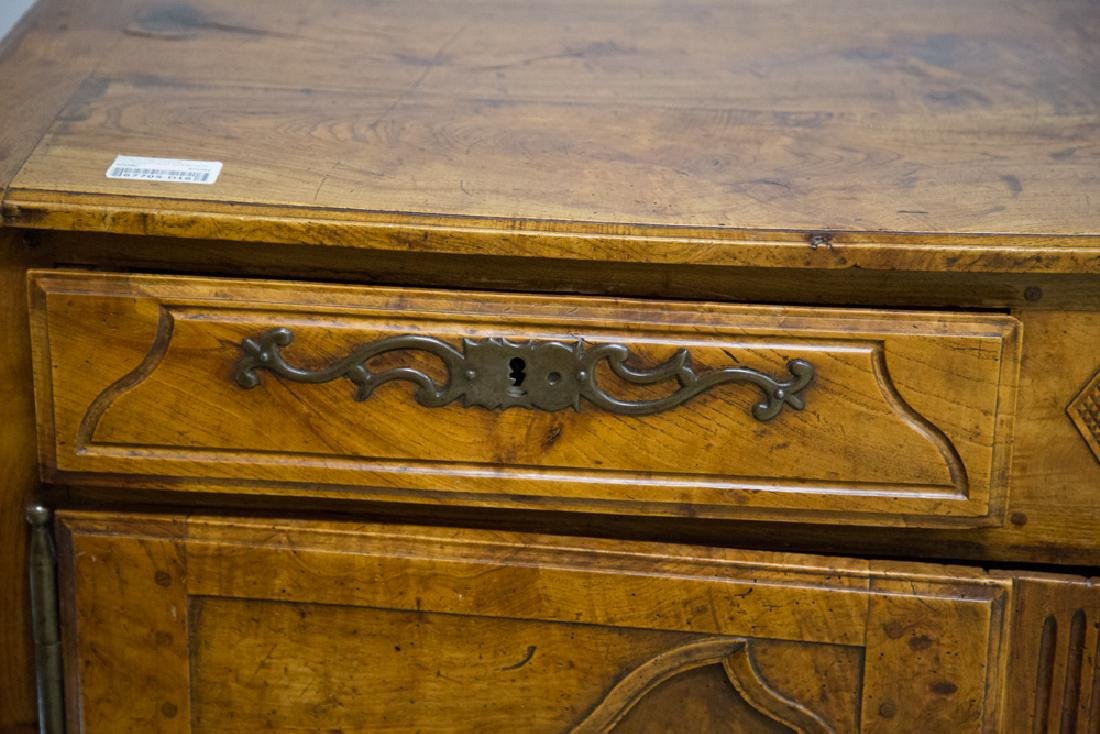 FRENCH PROVINCIAL FRUITWOOD & CHESTNUT BUFFET - 2