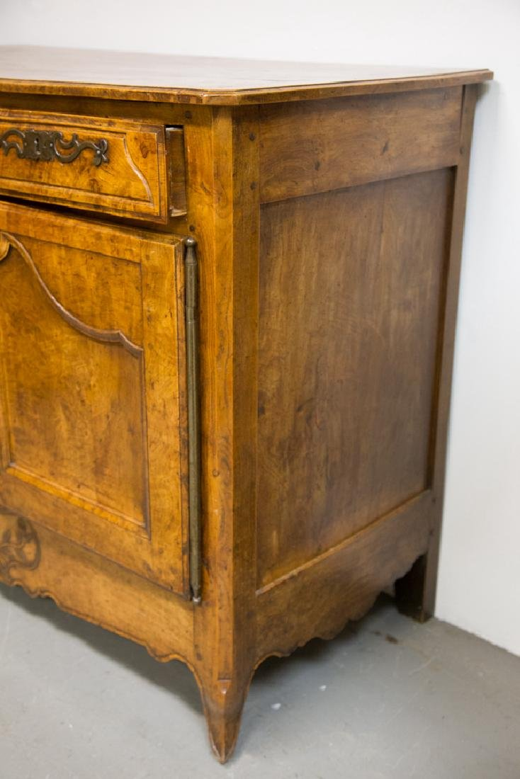 FRENCH PROVINCIAL FRUITWOOD & CHESTNUT BUFFET - 4