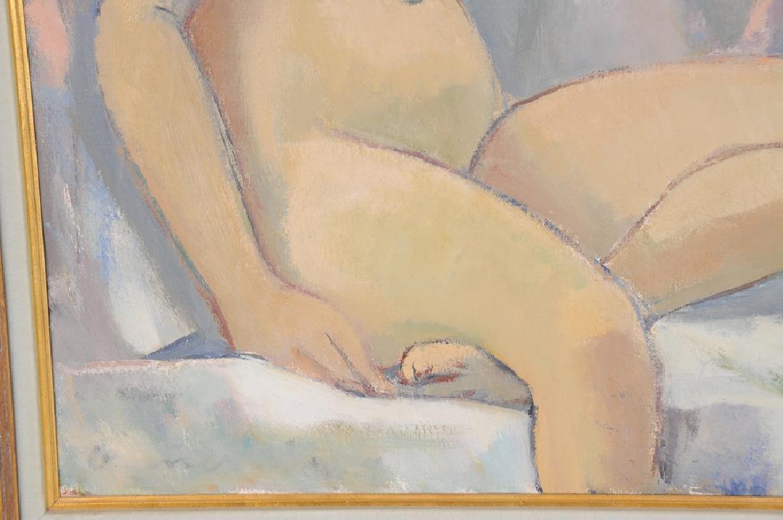 """MAURICE VAN ESSCHE: """"SEATED NUDE"""" - 8"""