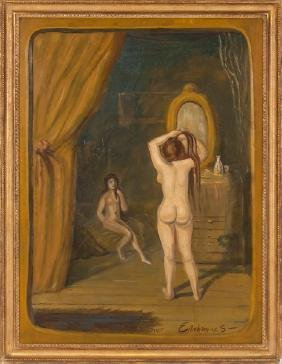 "LOUIS EILSHEMIUS: ""TWO NUDES"""