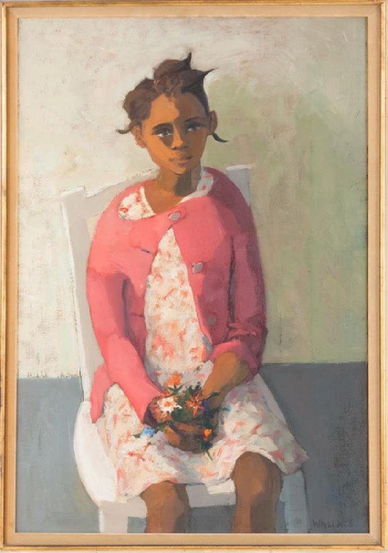 """MARJORIE WALLACE: """"PORTRAIT OF A YOUNG GIRL"""""""