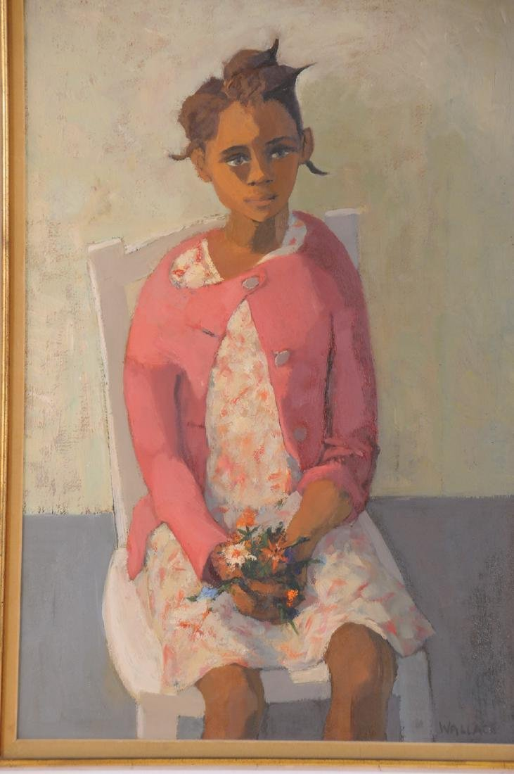 """MARJORIE WALLACE: """"PORTRAIT OF A YOUNG GIRL"""" - 2"""