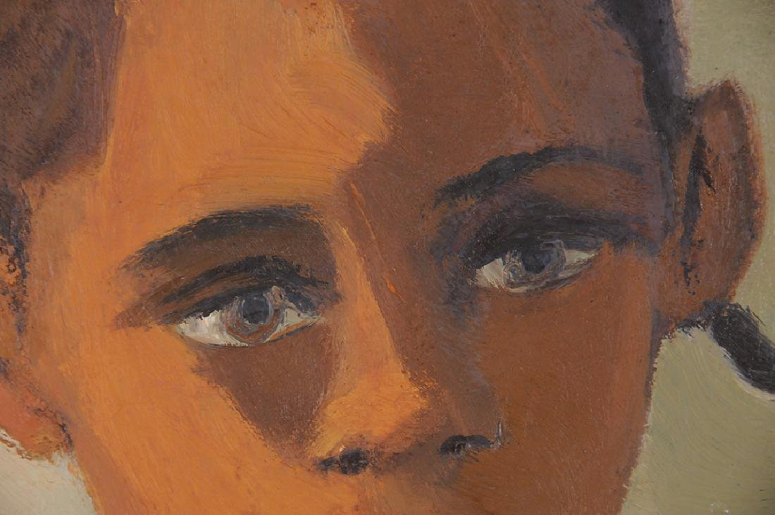 """MARJORIE WALLACE: """"PORTRAIT OF A YOUNG GIRL"""" - 5"""