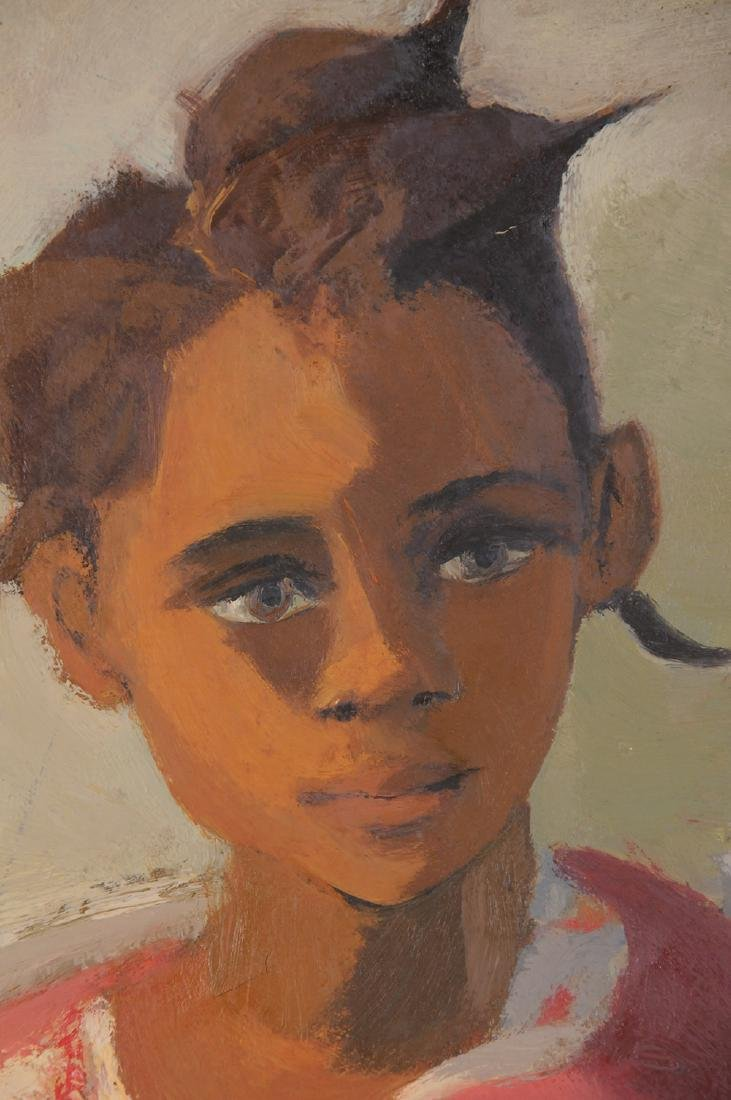 """MARJORIE WALLACE: """"PORTRAIT OF A YOUNG GIRL"""" - 7"""