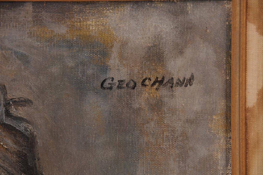 "GEORGE CHANN: ""PORTRAIT OF A MAN"" - 4"