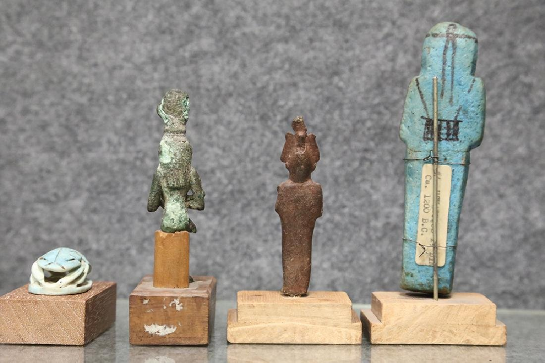 GROUP OF ANCIENT EGYPTIAN PIECES - 3