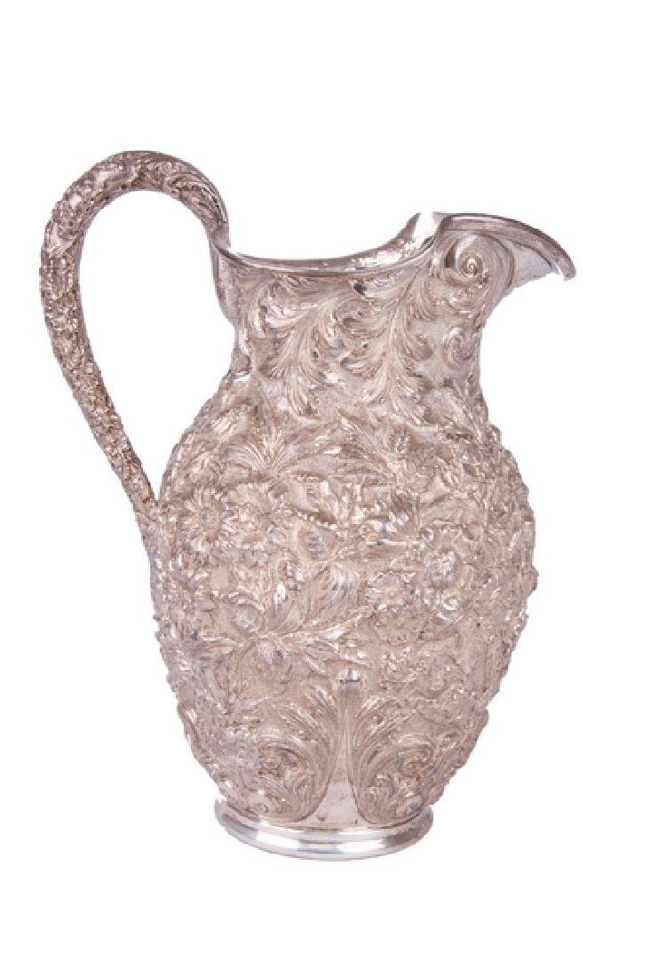KIRK & SON STERLING REPOUSSE PITCHER