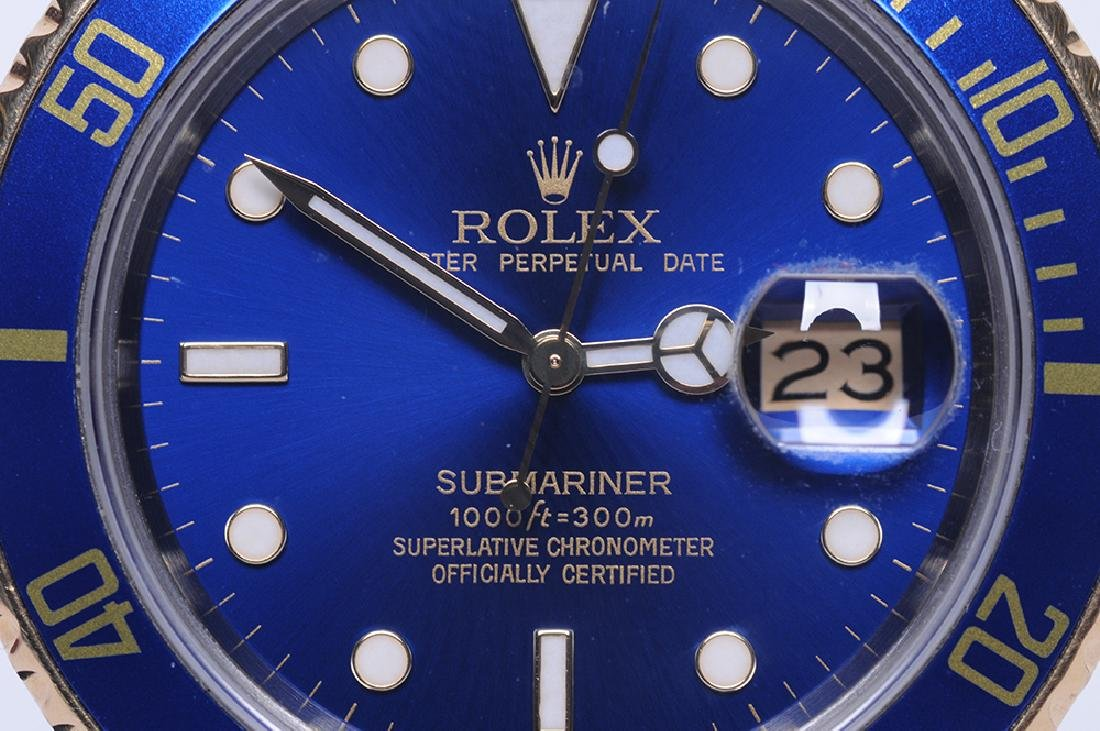 ROLEX: TWO-TONE SUBMARINER WATCH - 10