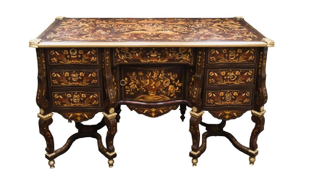 louis xiv style bureau mazarin. Black Bedroom Furniture Sets. Home Design Ideas