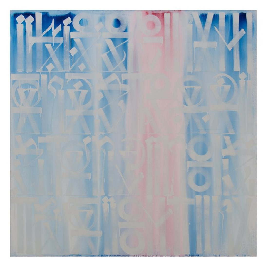"""RETNA (MARQUIS LEWIS): """"I KEEP MY HAND STEADY STACKING"""