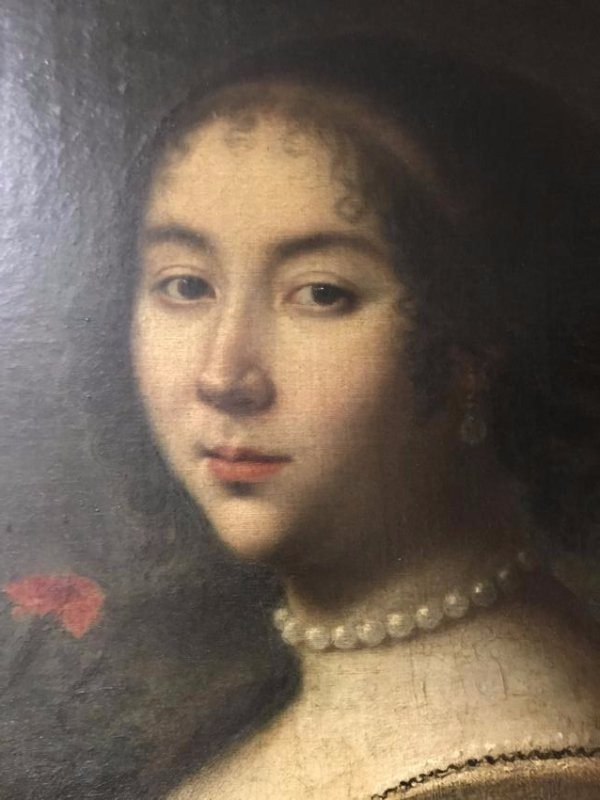"""ATTRIBUTED TO PETER (PIETER) LELY: """"PORTRAIT OF LADY"""" - 3"""