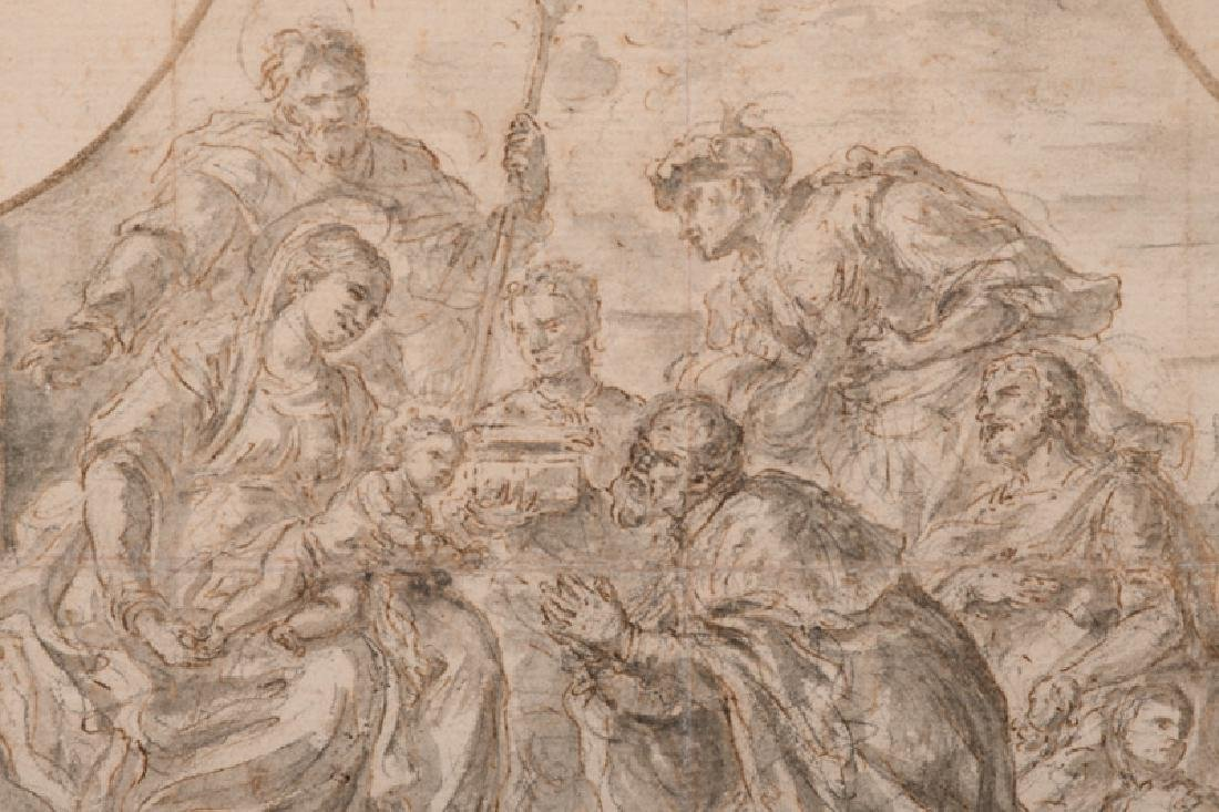 "ATTRIBUTED TO LUCA GIORDANO: ""ADORATION OF THE MAGI"" - 3"