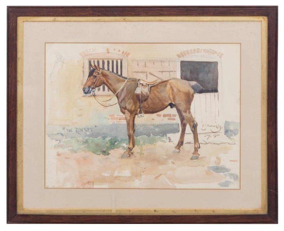 """ALFRED MUNNINGS: """"THE ROCKET"""""""