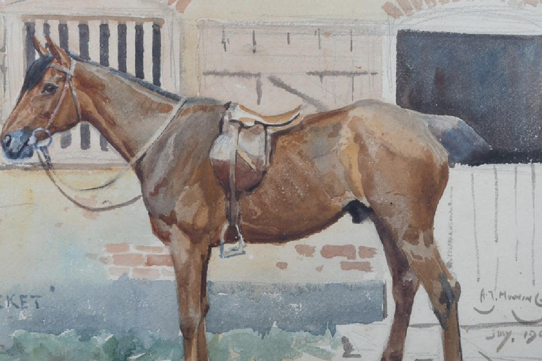 """ALFRED MUNNINGS: """"THE ROCKET"""" - 2"""