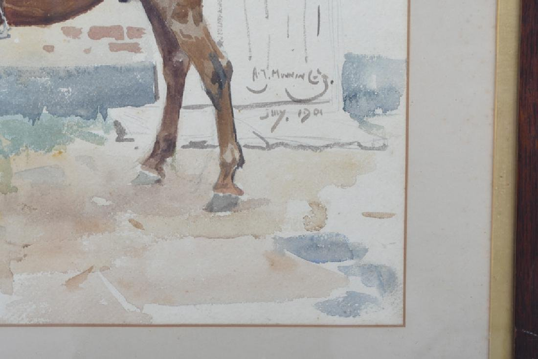 """ALFRED MUNNINGS: """"THE ROCKET"""" - 3"""