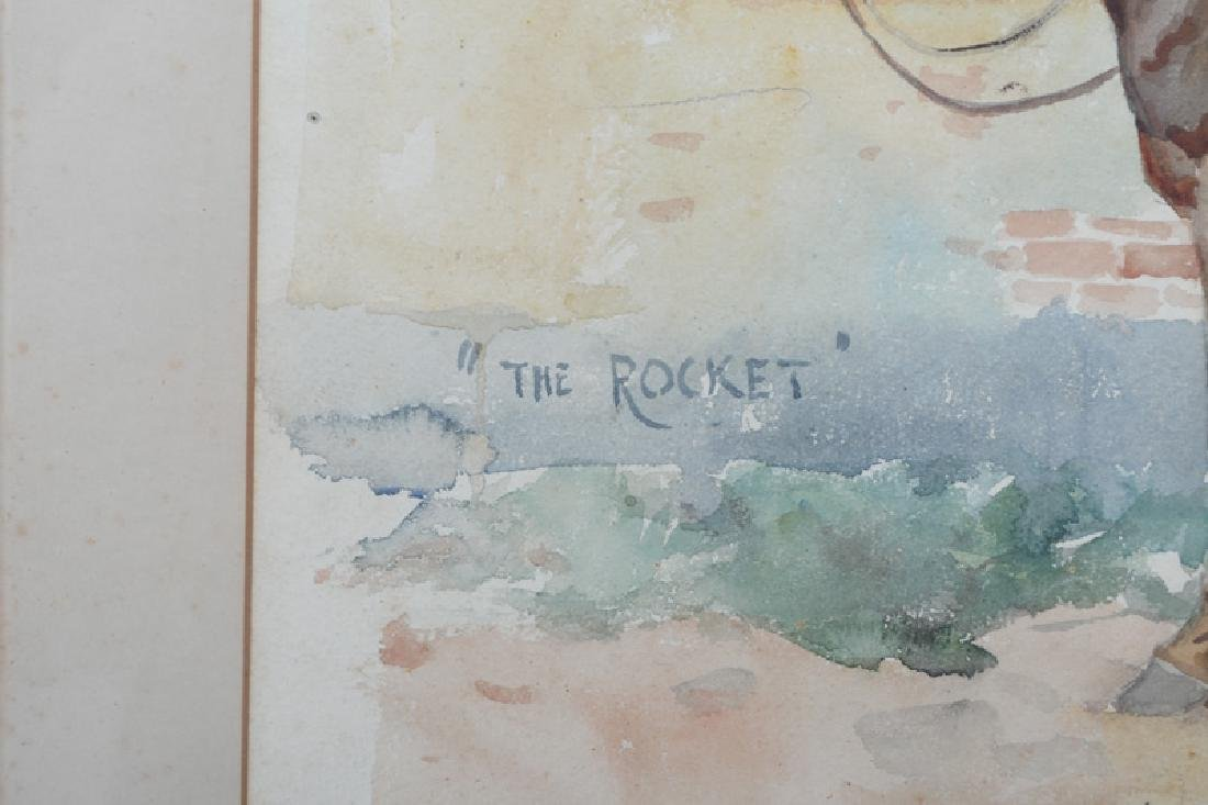 """ALFRED MUNNINGS: """"THE ROCKET"""" - 4"""