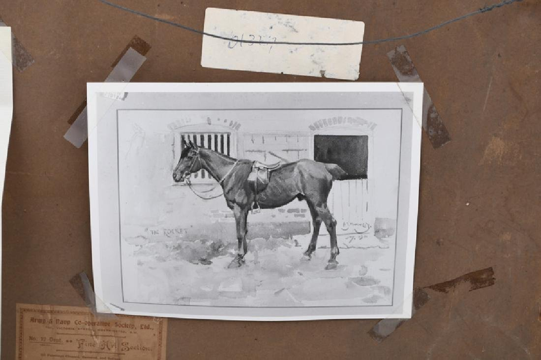 """ALFRED MUNNINGS: """"THE ROCKET"""" - 9"""