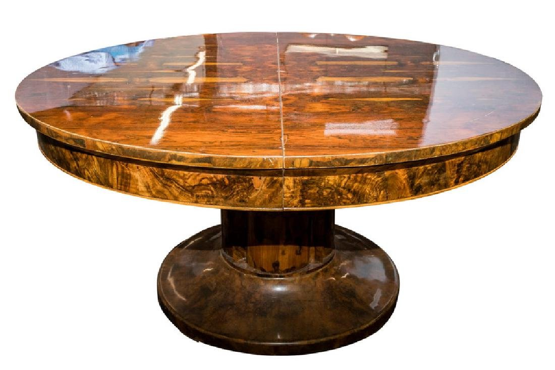 BIEDERMEIER PEDESTAL DINING TABLE