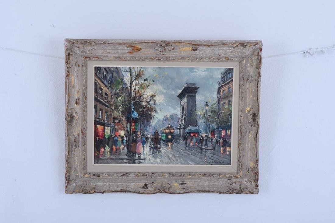 "AFTER ANTOINE BLANCHARD: ""PARISIAN STREET SCENE"" - 2"