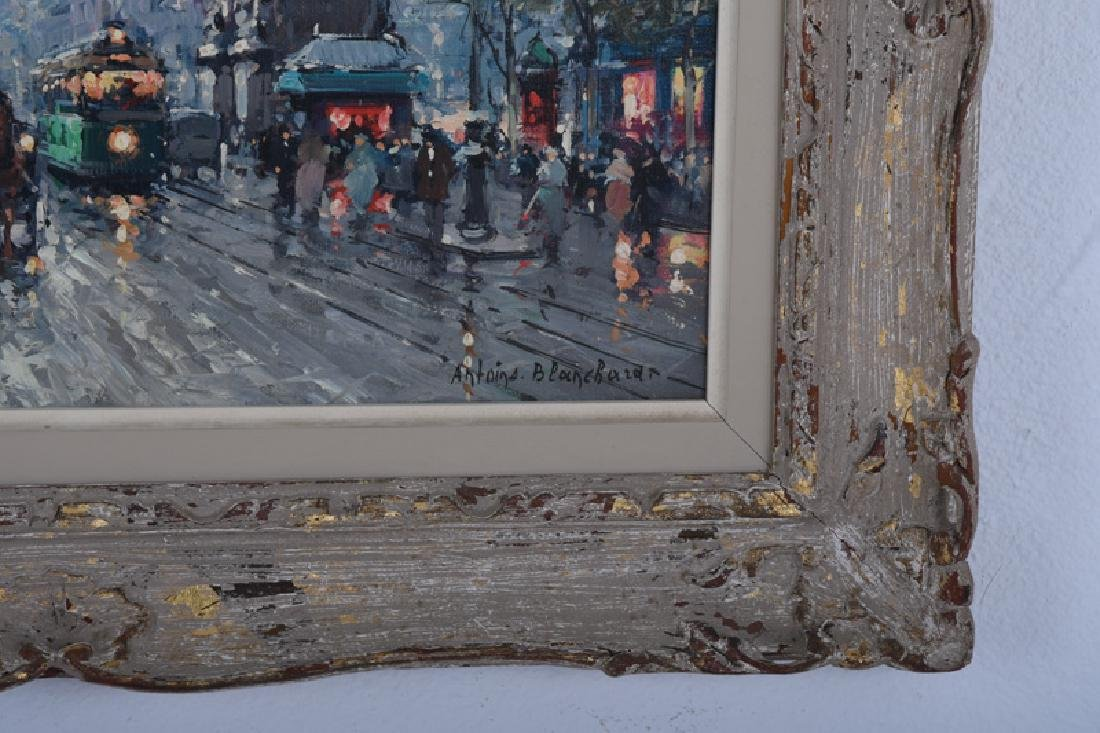 "AFTER ANTOINE BLANCHARD: ""PARISIAN STREET SCENE"" - 4"