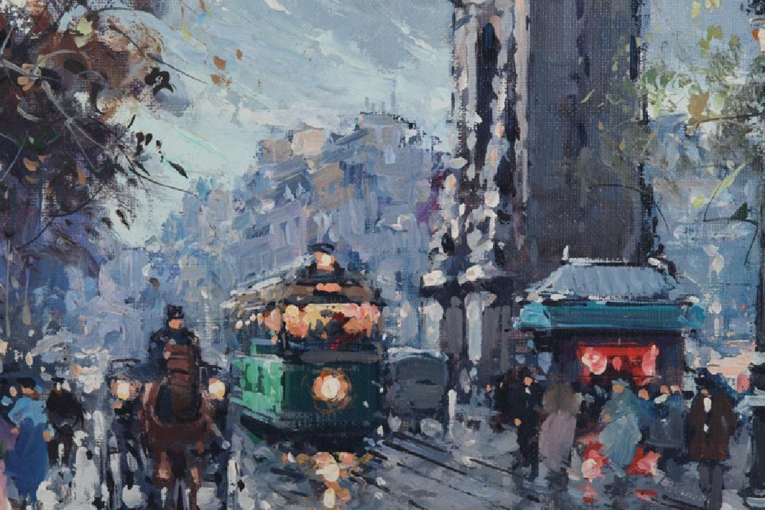 "AFTER ANTOINE BLANCHARD: ""PARISIAN STREET SCENE"" - 5"