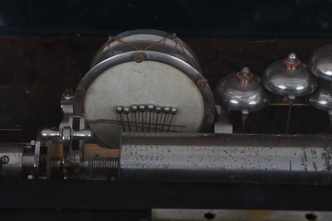 PAILLARD MUSIC BOX ON STAND - 5