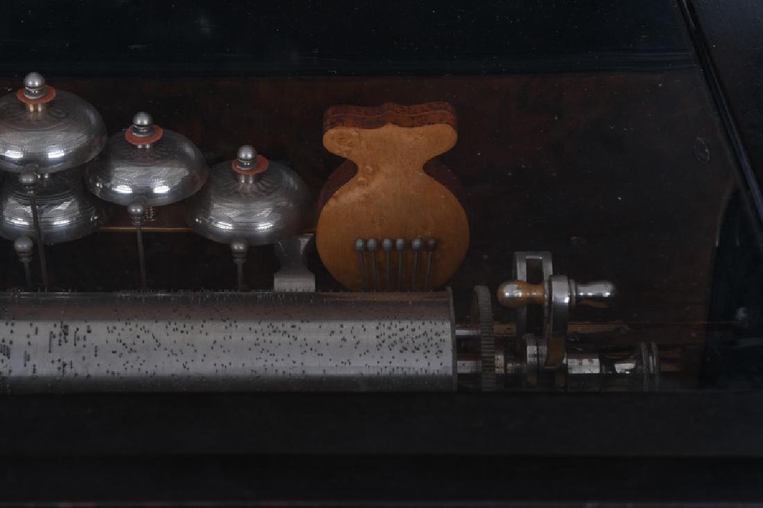 PAILLARD MUSIC BOX ON STAND - 6