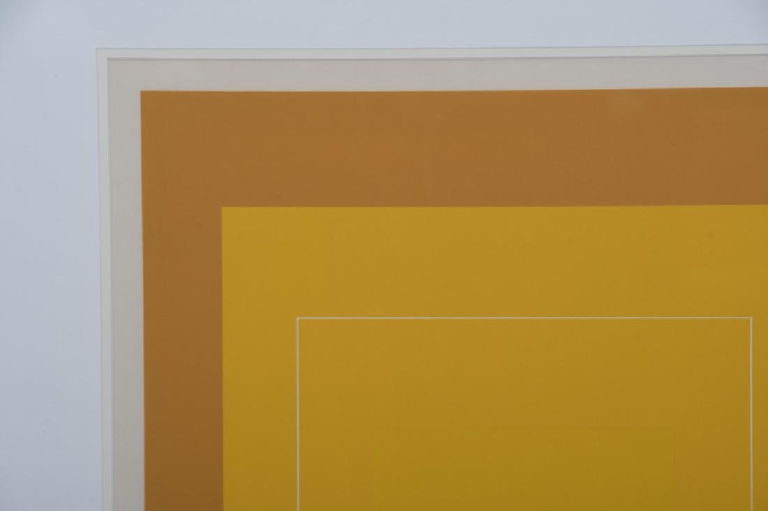 """JOSEF ALBERS: """"THREE LITHOGRAPHS (FROM 'THE WHITE LINE - 3"""