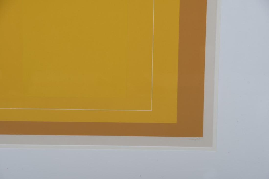 """JOSEF ALBERS: """"THREE LITHOGRAPHS (FROM 'THE WHITE LINE - 4"""
