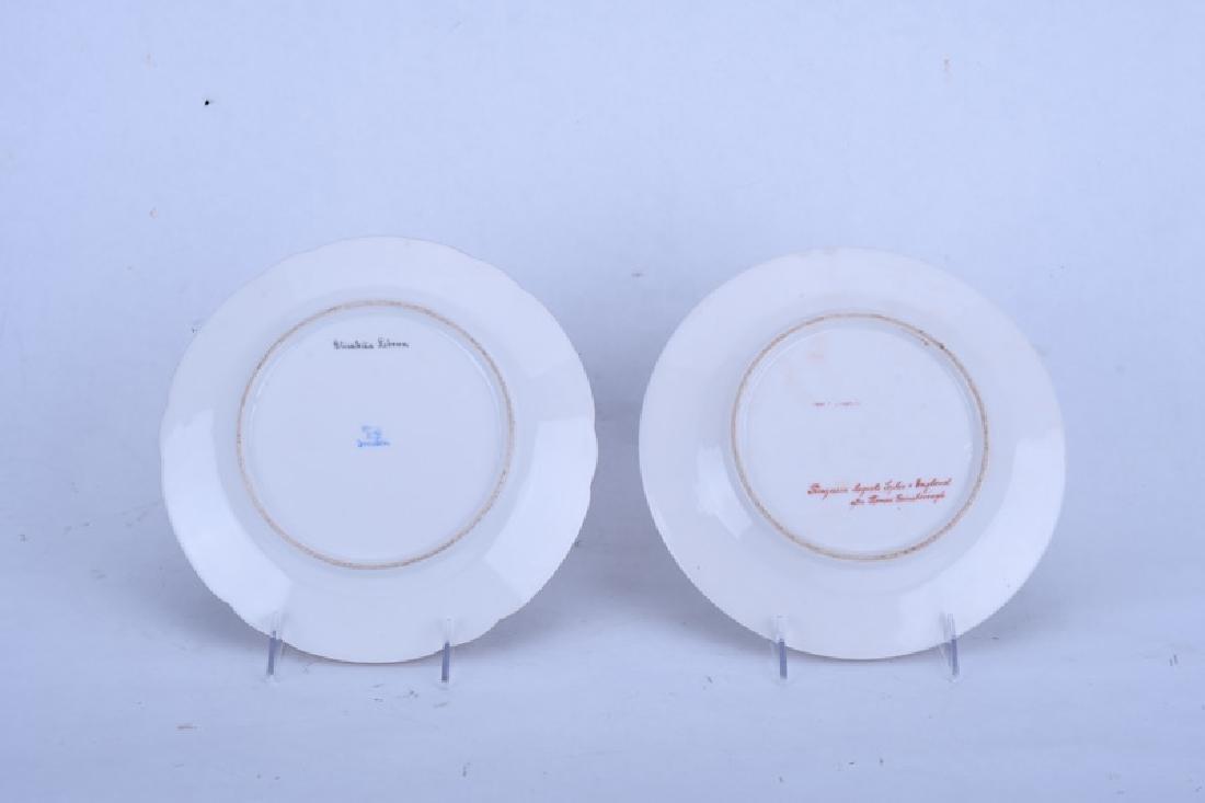 TWO PORCELAIN PORTRAIT PLATES - 4