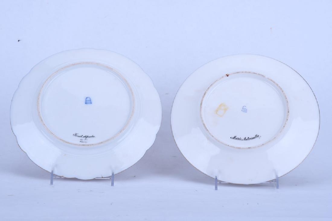 TWO VIENNA PORCELAIN PORTRAIT PLATES - 7
