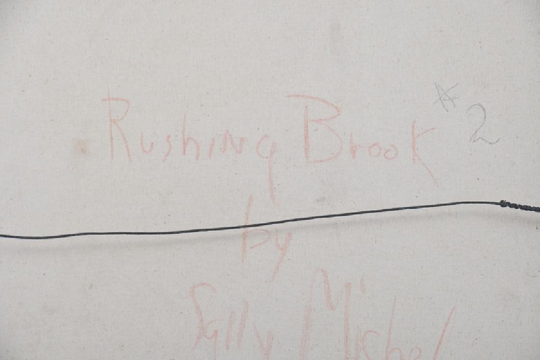 """SALLY MICHEL: """"RUSHING BROOK # 2"""" - 10"""