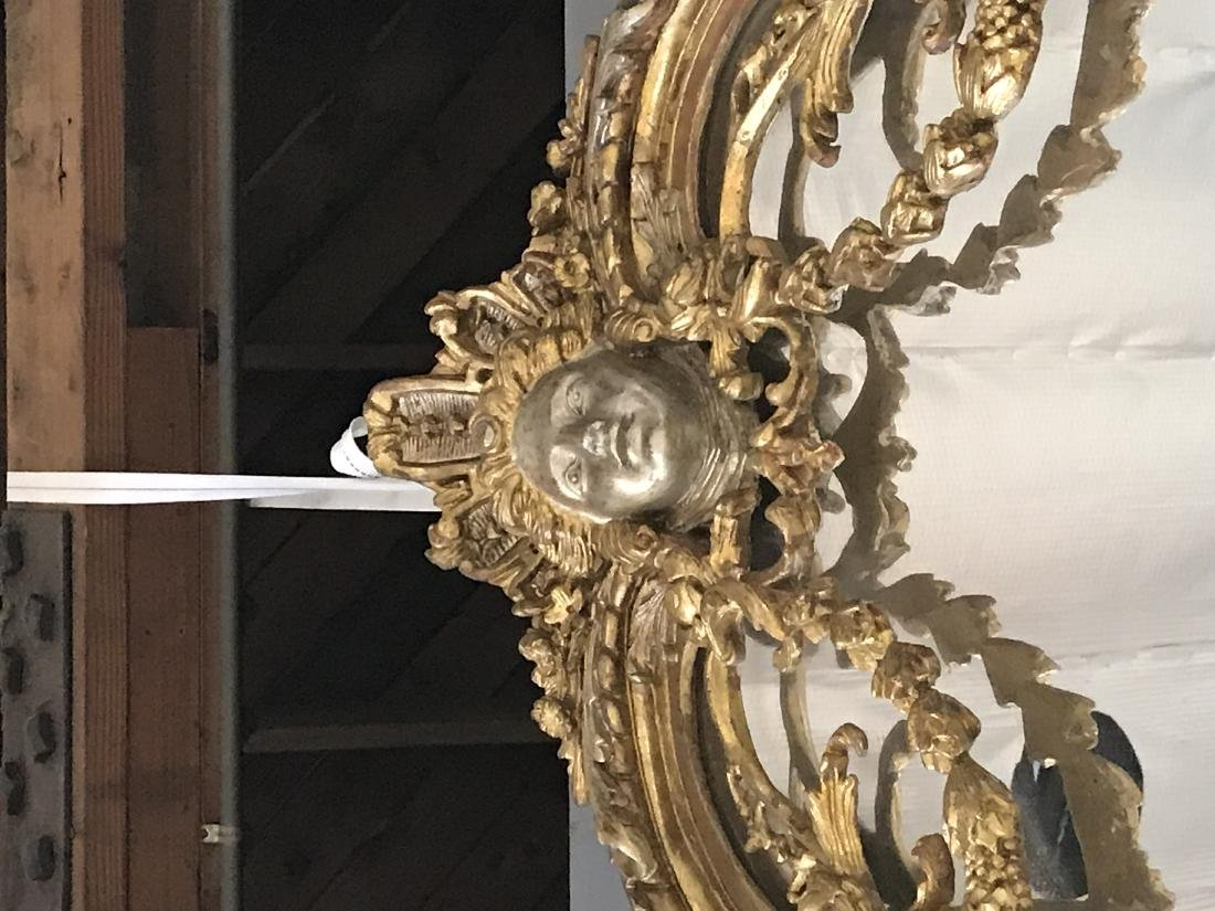 PAIR OF FRENCH REGENCE STYLE GILTWOOD MIRRORS - 7