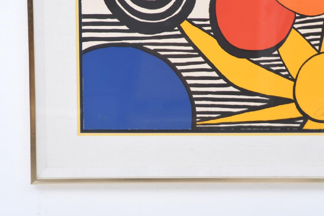 """ALEXANDER CALDER: """"UNTITLED (SUN WITH PLANETS)"""" - 3"""