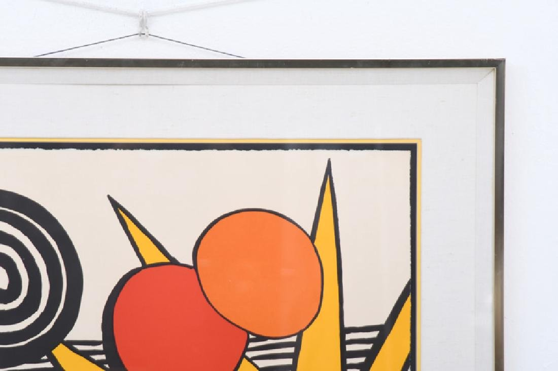 """ALEXANDER CALDER: """"UNTITLED (SUN WITH PLANETS)"""" - 4"""