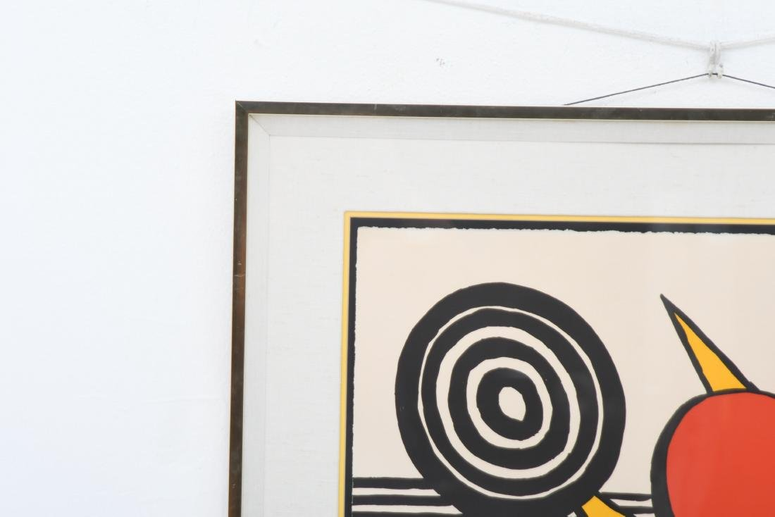 """ALEXANDER CALDER: """"UNTITLED (SUN WITH PLANETS)"""" - 8"""