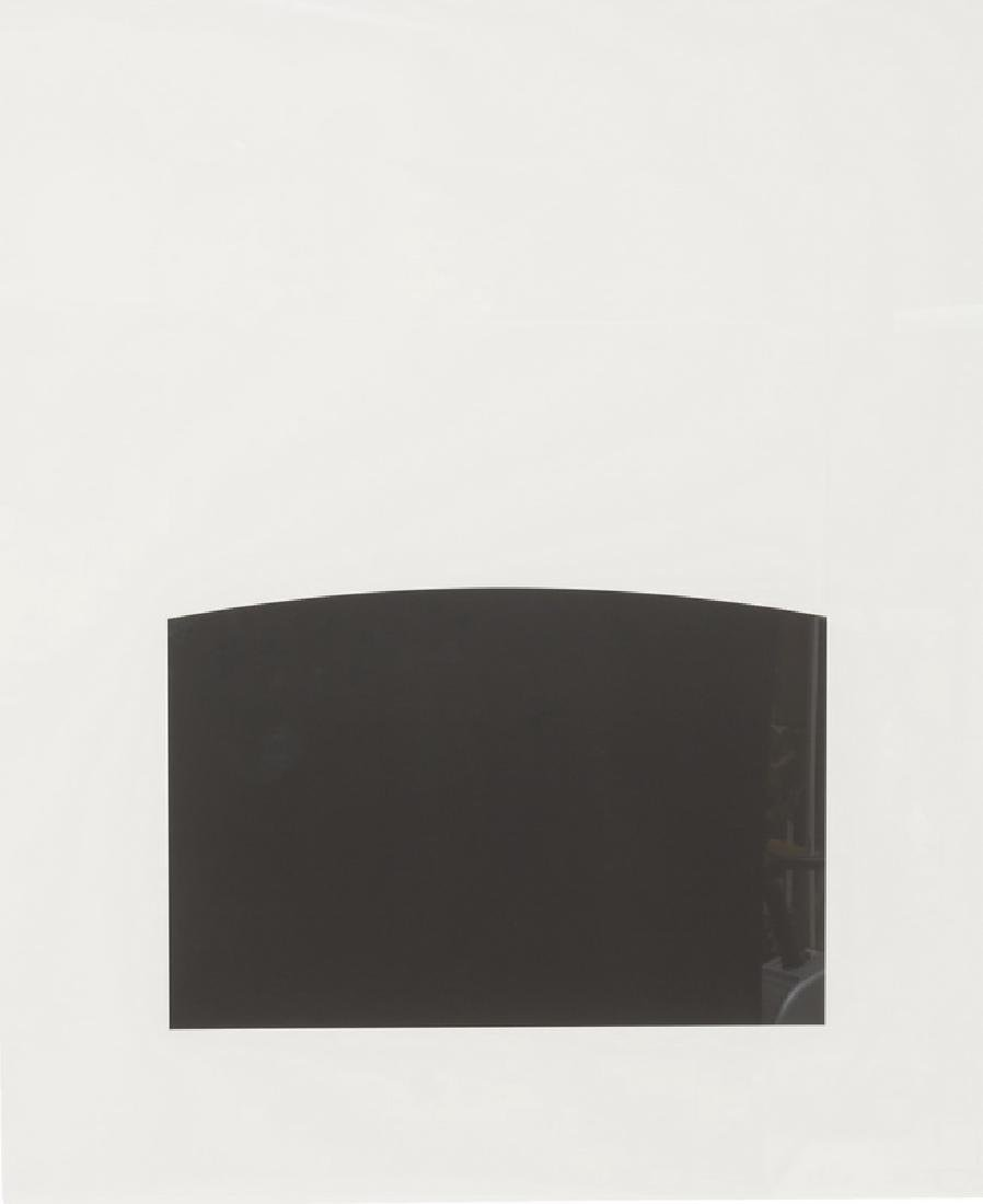 """ELLSWORTH KELLY: """"POITIERS (FROM 'THE THIRD CURVE"""